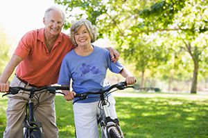 more older adults are riding bicycles