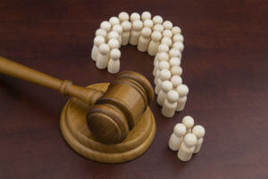 gavel-white-question-mark